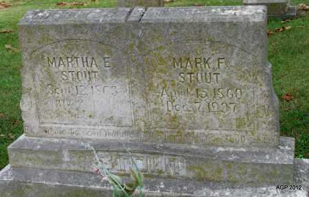 STOUT, MARTHA ELLEN - Sharp County, Arkansas | MARTHA ELLEN STOUT - Arkansas Gravestone Photos