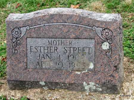 STREET, ESTHER - Sharp County, Arkansas | ESTHER STREET - Arkansas Gravestone Photos