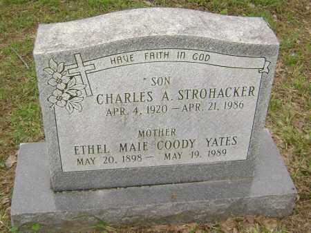 COODY YATES, ETHEL MAIE - Sharp County, Arkansas | ETHEL MAIE COODY YATES - Arkansas Gravestone Photos