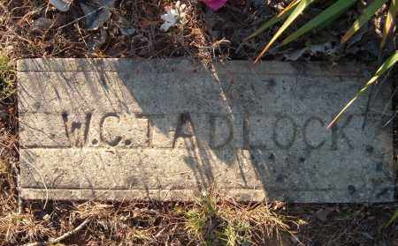 TADLOCK, W. C. - Sharp County, Arkansas   W. C. TADLOCK - Arkansas Gravestone Photos