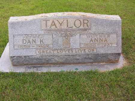 TAYLOR, ANNA - Sharp County, Arkansas | ANNA TAYLOR - Arkansas Gravestone Photos