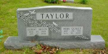 TAYLOR, ELBERT ARSON - Sharp County, Arkansas | ELBERT ARSON TAYLOR - Arkansas Gravestone Photos