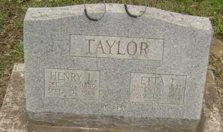 TAYLOR, HENRY L - Sharp County, Arkansas | HENRY L TAYLOR - Arkansas Gravestone Photos