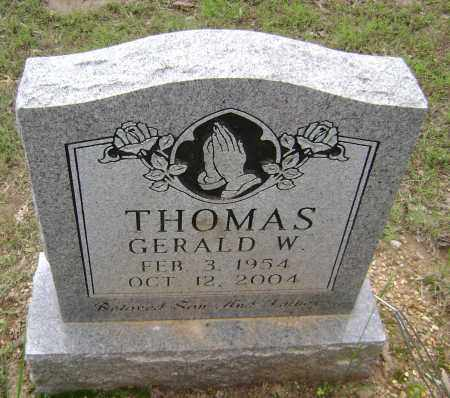 THOMAS, GERALD W - Sharp County, Arkansas | GERALD W THOMAS - Arkansas Gravestone Photos