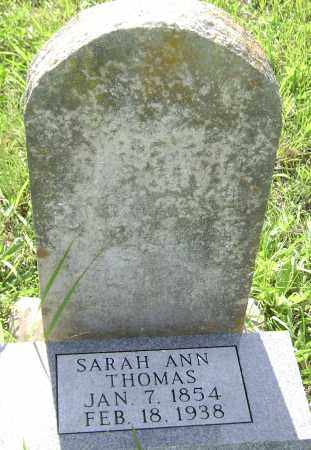 THOMAS, SARAH ANN - Sharp County, Arkansas   SARAH ANN THOMAS - Arkansas Gravestone Photos