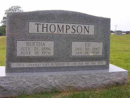 THOMPSON, BERTHA A. - Sharp County, Arkansas   BERTHA A. THOMPSON - Arkansas Gravestone Photos