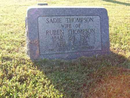 """THOMPSON, SARAH M. """"SADIE"""" - Sharp County, Arkansas   SARAH M. """"SADIE"""" THOMPSON - Arkansas Gravestone Photos"""