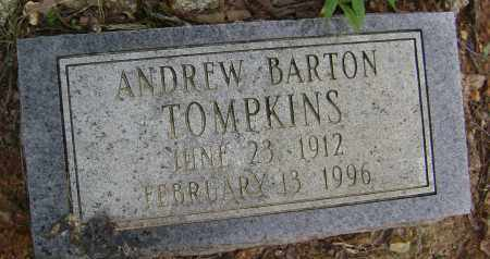 TOMPKINS, ANDREW BARTON - Sharp County, Arkansas | ANDREW BARTON TOMPKINS - Arkansas Gravestone Photos