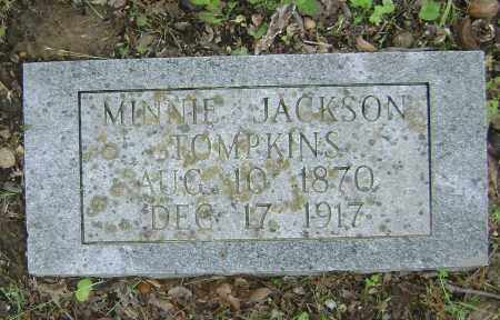 JACKSON TOMPKINS, MINNIE - Sharp County, Arkansas | MINNIE JACKSON TOMPKINS - Arkansas Gravestone Photos