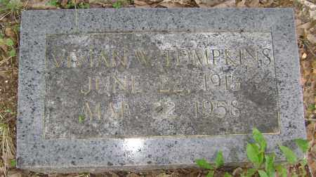 TOMPKINS, VIVIAN W - Sharp County, Arkansas | VIVIAN W TOMPKINS - Arkansas Gravestone Photos
