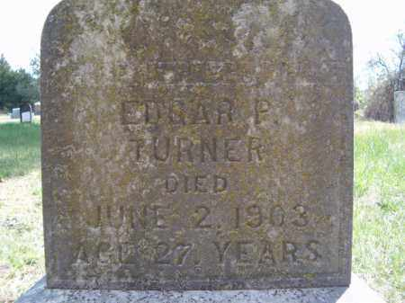 TURNER, EDGAR P. - Sharp County, Arkansas | EDGAR P. TURNER - Arkansas Gravestone Photos