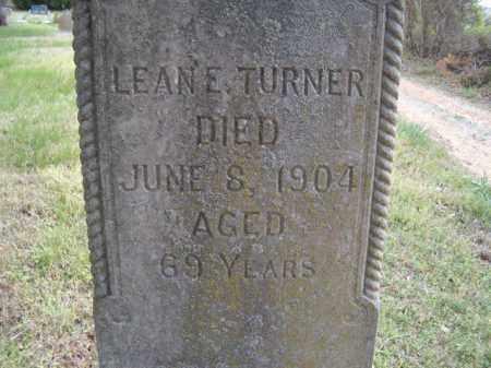 TURNER, LEANE E. - Sharp County, Arkansas | LEANE E. TURNER - Arkansas Gravestone Photos