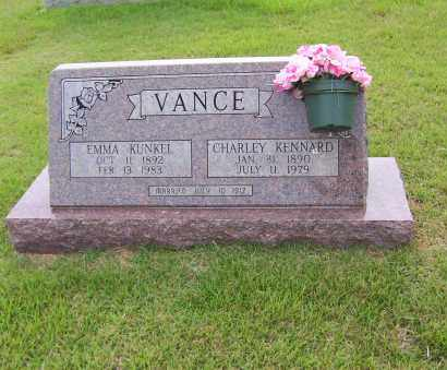VANCE, CHARLEY - Sharp County, Arkansas | CHARLEY VANCE - Arkansas Gravestone Photos