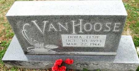 TAYLOR VAN HOOSE, DORA ELSIE - Sharp County, Arkansas   DORA ELSIE TAYLOR VAN HOOSE - Arkansas Gravestone Photos