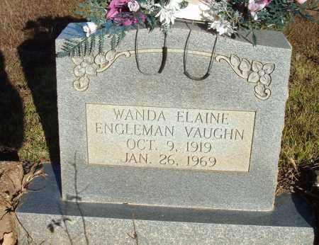 ENGLEMAN VAUGHN, WANDA ELAINE - Sharp County, Arkansas | WANDA ELAINE ENGLEMAN VAUGHN - Arkansas Gravestone Photos