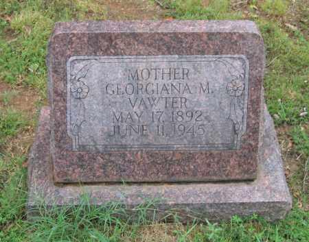 VAWTER, GEORGIANA - Sharp County, Arkansas | GEORGIANA VAWTER - Arkansas Gravestone Photos