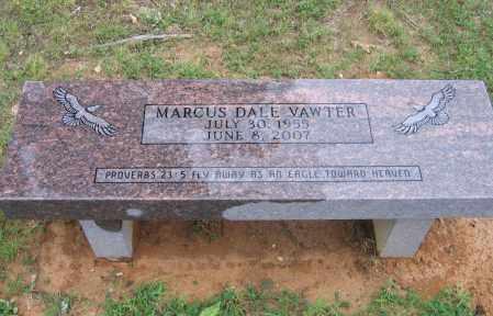 VAWTER (VETERAN), MARCUS DALE - Sharp County, Arkansas | MARCUS DALE VAWTER (VETERAN) - Arkansas Gravestone Photos