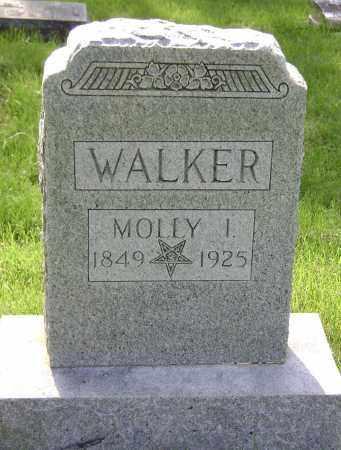 WALKER, MOLLY I - Sharp County, Arkansas | MOLLY I WALKER - Arkansas Gravestone Photos