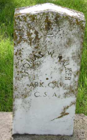 WALKER (VETERAN CSA), THOMAS W. - Sharp County, Arkansas | THOMAS W. WALKER (VETERAN CSA) - Arkansas Gravestone Photos
