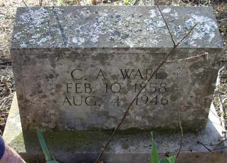 WARE, CHARLES ALFRED - Sharp County, Arkansas   CHARLES ALFRED WARE - Arkansas Gravestone Photos