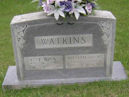 WATKINS, WILLIAM BRYAN - Sharp County, Arkansas | WILLIAM BRYAN WATKINS - Arkansas Gravestone Photos
