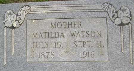 WATSON, MATLIDA E - Sharp County, Arkansas | MATLIDA E WATSON - Arkansas Gravestone Photos
