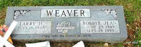KELLEMS WEAVER, BOBBYE JEAN - Sharp County, Arkansas | BOBBYE JEAN KELLEMS WEAVER - Arkansas Gravestone Photos