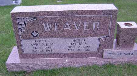 WEAVER, LAWRENCE MARVIN - Sharp County, Arkansas | LAWRENCE MARVIN WEAVER - Arkansas Gravestone Photos