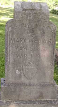 WEAVER, MARY - Sharp County, Arkansas | MARY WEAVER - Arkansas Gravestone Photos