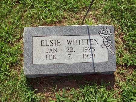 WHITTEN, ELSIE M. - Sharp County, Arkansas   ELSIE M. WHITTEN - Arkansas Gravestone Photos