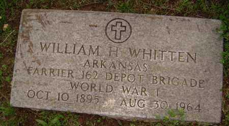 WHITTEN (VETERAN WWI), WILLIAM HOPKINS - Sharp County, Arkansas | WILLIAM HOPKINS WHITTEN (VETERAN WWI) - Arkansas Gravestone Photos