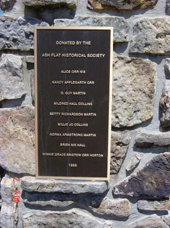 *MEMORIAL  PLAQUE,  - Sharp County, Arkansas |  *MEMORIAL  PLAQUE - Arkansas Gravestone Photos