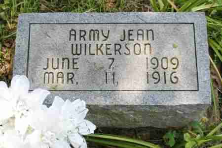 WILKERSON, ARMY JEAN - Sharp County, Arkansas   ARMY JEAN WILKERSON - Arkansas Gravestone Photos