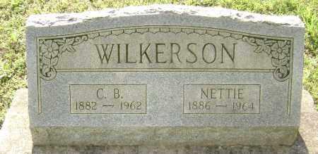 "WILKERSON, CORNELIUS B. ""C. B."" - Sharp County, Arkansas | CORNELIUS B. ""C. B."" WILKERSON - Arkansas Gravestone Photos"