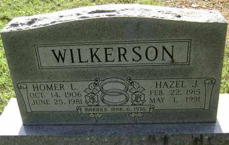 WILKERSON, HOMER L. - Sharp County, Arkansas | HOMER L. WILKERSON - Arkansas Gravestone Photos