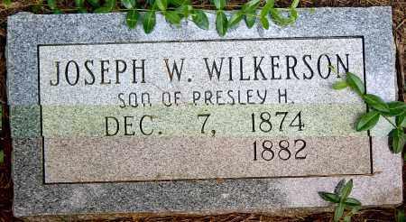 WILKERSON, JOSEPH W. - Sharp County, Arkansas   JOSEPH W. WILKERSON - Arkansas Gravestone Photos