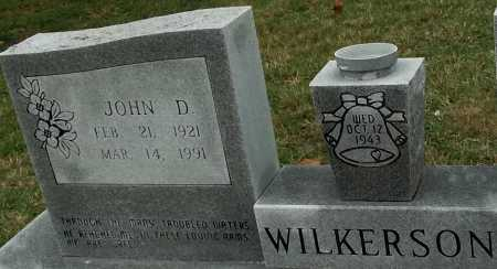 WILKERSON, JOHN DANIEL - Sharp County, Arkansas | JOHN DANIEL WILKERSON - Arkansas Gravestone Photos