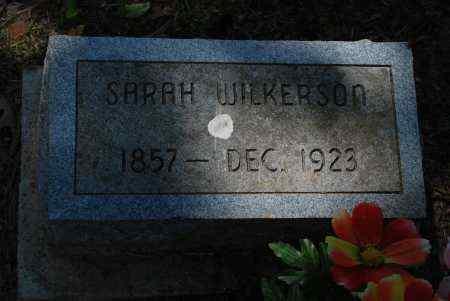 WILKERSON, SARAH E. - Sharp County, Arkansas | SARAH E. WILKERSON - Arkansas Gravestone Photos