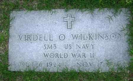 WILKINSON (VETERAN WWII), VIRDELL O - Sharp County, Arkansas | VIRDELL O WILKINSON (VETERAN WWII) - Arkansas Gravestone Photos