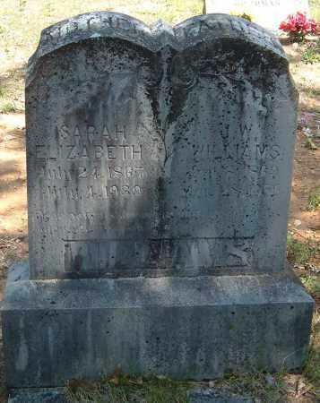 "WILLIAMS, JOEL WESLEY ""J. W."" - Sharp County, Arkansas | JOEL WESLEY ""J. W."" WILLIAMS - Arkansas Gravestone Photos"