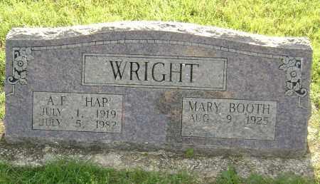"""WRIGHT, ARTHUR F.  """"HAP"""" - Sharp County, Arkansas   ARTHUR F.  """"HAP"""" WRIGHT - Arkansas Gravestone Photos"""
