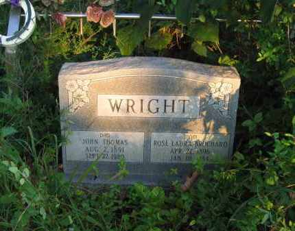 BROCHARD WRIGHT, ROSE LAURA - Sharp County, Arkansas | ROSE LAURA BROCHARD WRIGHT - Arkansas Gravestone Photos
