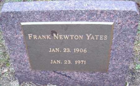YATES, FRANKLIN NEWTON - Sharp County, Arkansas | FRANKLIN NEWTON YATES - Arkansas Gravestone Photos