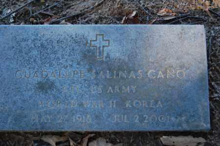 CANO (VETERAN 2 WARS), GUADALUPE SALINAS - St. Francis County, Arkansas | GUADALUPE SALINAS CANO (VETERAN 2 WARS) - Arkansas Gravestone Photos