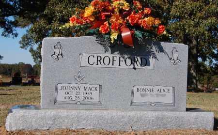CROFFORD, JOHNNY MACK - St. Francis County, Arkansas | JOHNNY MACK CROFFORD - Arkansas Gravestone Photos