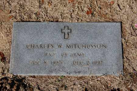 MITCHUSSON (VETERAN), CHARLES W - St. Francis County, Arkansas | CHARLES W MITCHUSSON (VETERAN) - Arkansas Gravestone Photos
