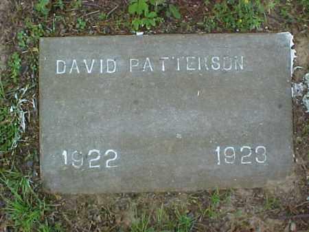 PATTERSON, DAVID - St. Francis County, Arkansas | DAVID PATTERSON - Arkansas Gravestone Photos