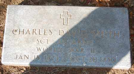 SMITH  (VETERAN WWII), CHARLES DAVID - St. Francis County, Arkansas | CHARLES DAVID SMITH  (VETERAN WWII) - Arkansas Gravestone Photos