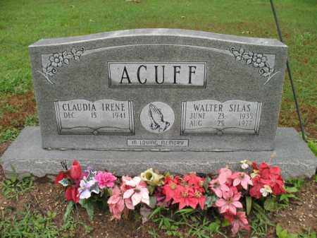 ACUFF, WALTER SILAS - St. Francis County, Arkansas | WALTER SILAS ACUFF - Arkansas Gravestone Photos