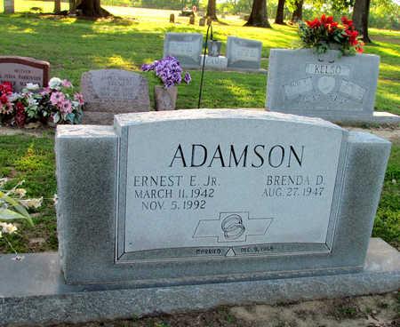 ADAMSON, JR, ERNEST E - St. Francis County, Arkansas   ERNEST E ADAMSON, JR - Arkansas Gravestone Photos